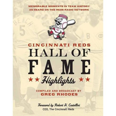 Cincinnati Reds Hall of Fame Highlights - (Hardcover) - image 1 of 1