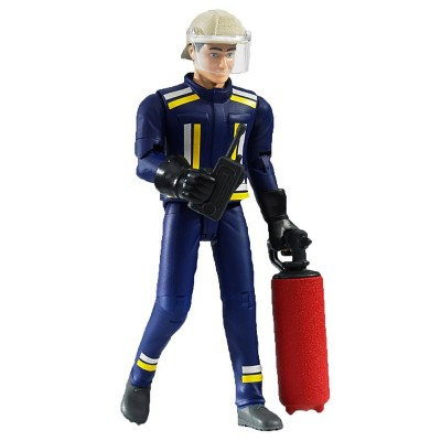 Bruder bworld Fireman Figure with Accessories