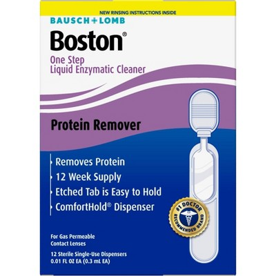 Boston One Step Liquid Enzymatic Cleaner - 12ct