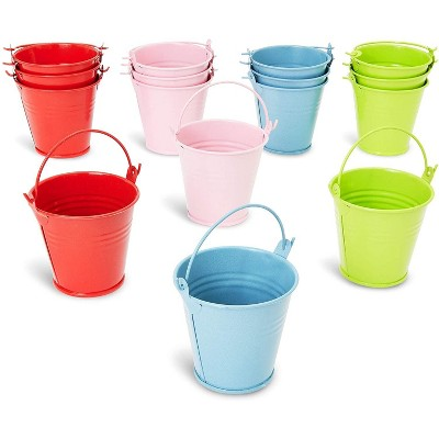 Juvale Small Metal Watering Can with Handles (2.5 in, 16 Pack)