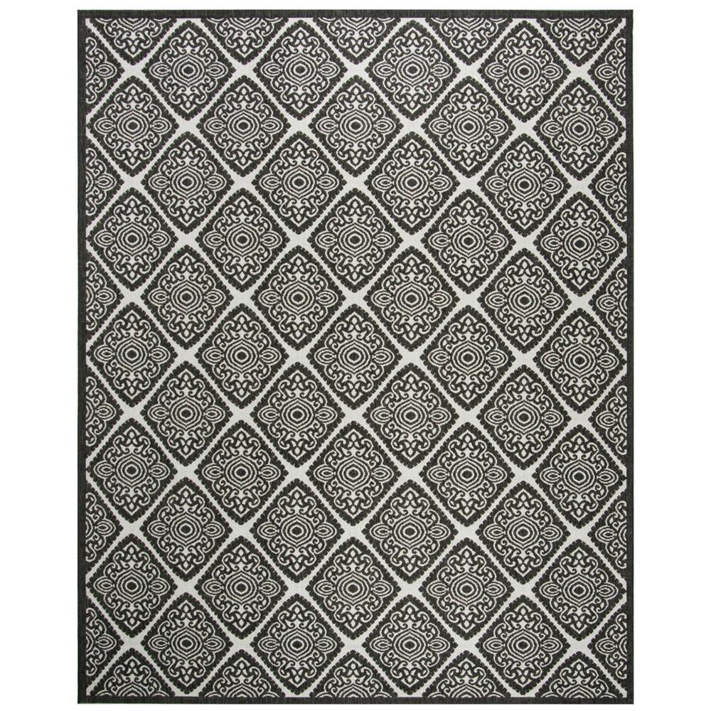 8'X10' Medallion Loomed Area Rug Light Gray/Charcoal (Light Gray/Grey) - Safavieh