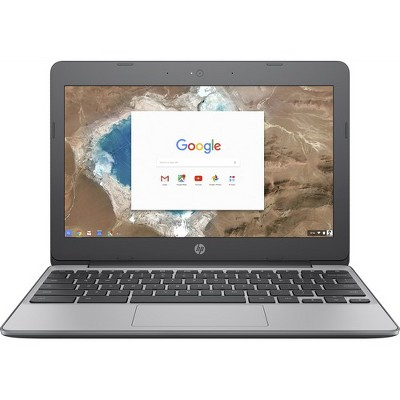 HP 11 Touchscreen Chromebook Intel Celeron N3060 4GB RAM 16GB eMMC Ash Gray - Intel Celeron N3060 Dual-core - Intel HD Graphics 400