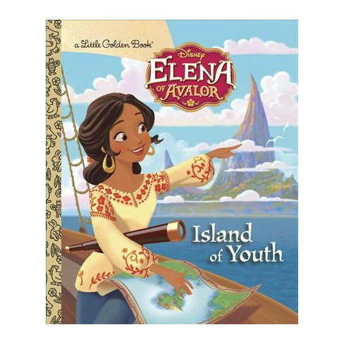Island of Youth (Disney Elena of Avalor) - (Little Golden Book) by  Judy Katschke (Hardcover) - image 1 of 1