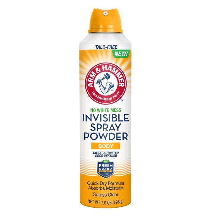 Arm & Hammer Invisible Spray Body Powder 7oz - image 1 of 1