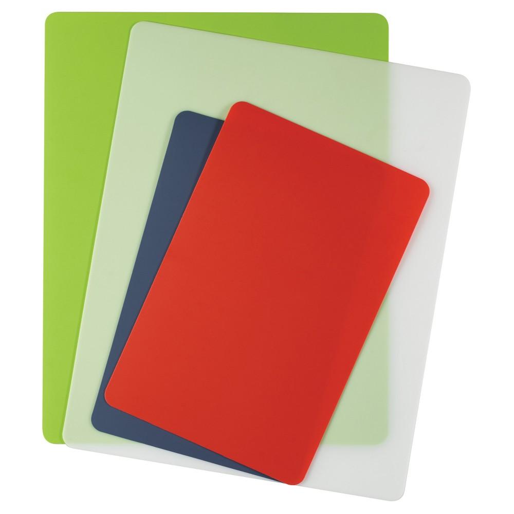 Farberware Flex Poly Cutting Boards, Multi-Colored