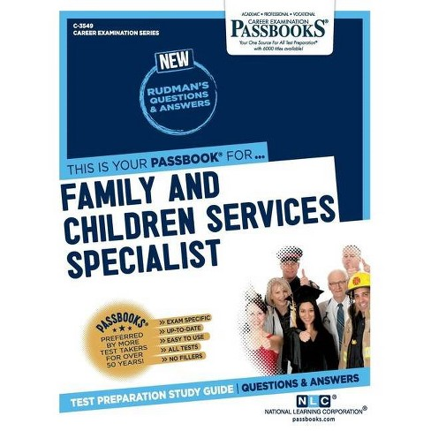 Family and Children Services Specialist - by  National Learning Corporation (Paperback) - image 1 of 1