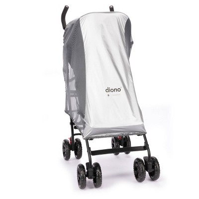 Diono Universal Stroller Sun Shade & Insect Net with Heatblock Sun Protection - Silver