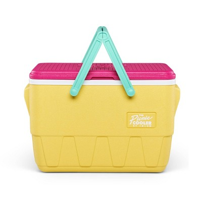 Igloo Picnic Basket Retro Cooler - Sunshine Yellow
