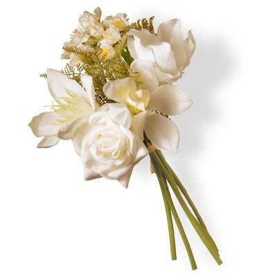 "Artificial Magnolia Bundle Cream 13"" - National Tree Company"