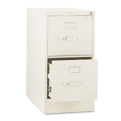 HON 310 Series Two-Drawer Full-Suspension File Letter 26-1/2d Putty 312PL
