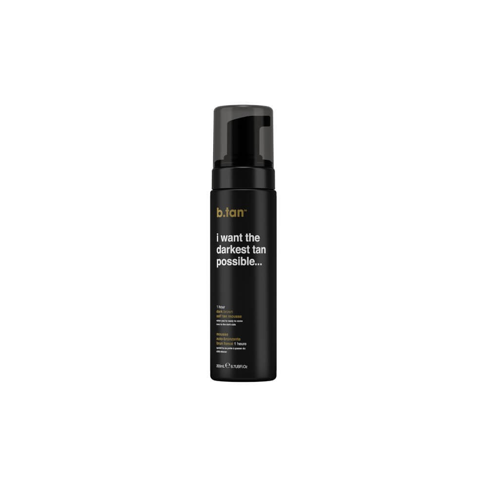 Image of B.Tan Dark Brown Self Tanning Mousse - 6.7oz