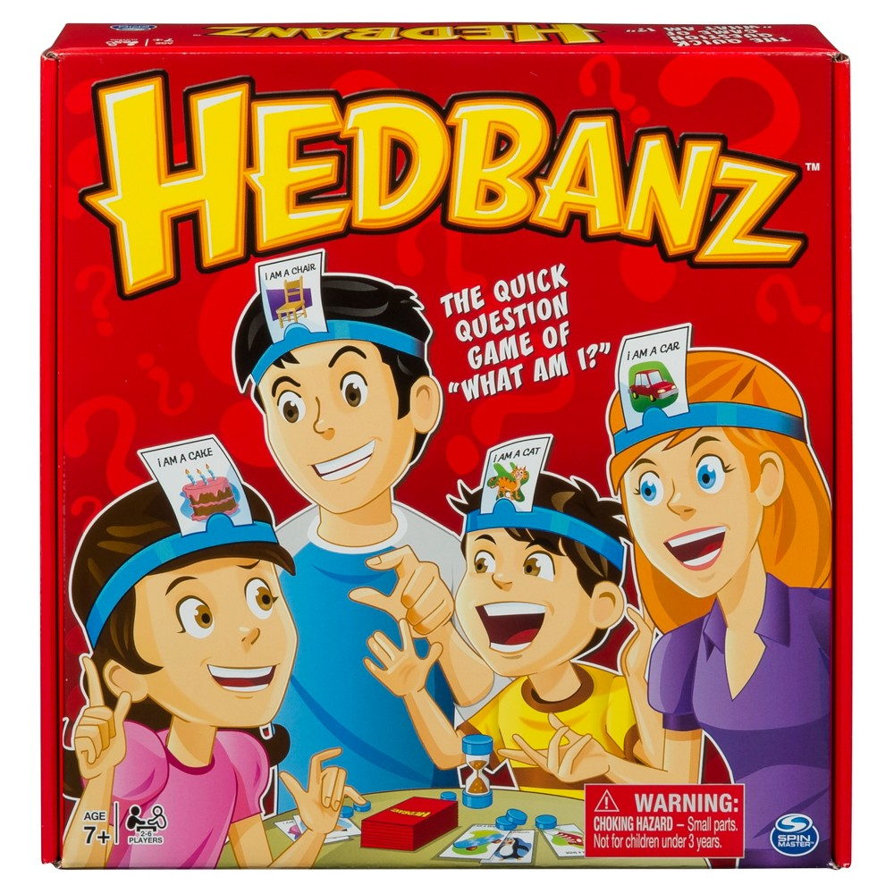 Hedbanz Original Game, Board Games
