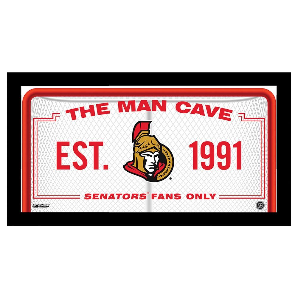 Ottawa Senators Steiner Sports Man Cave Sign - 10