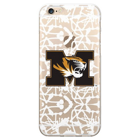 Apple iPhone 8/7/6s/6 Case University of Missouri Painted V1 Clear - OTM Essentials - image 1 of 1