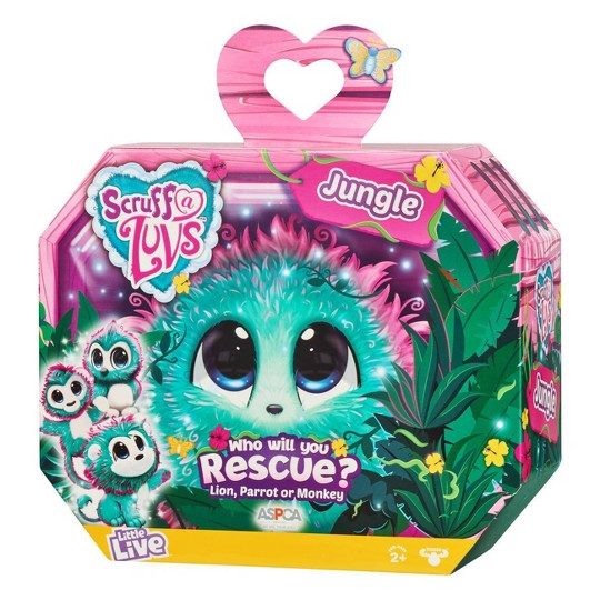 Little Live Scruff-A-Luvs Single Pack - Jungle image number null