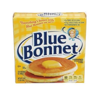Blue Bonnet Margarine Quarters - 1lb