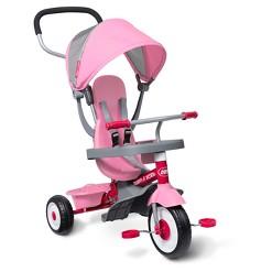 Radio Flyer 4-in-1 Stroll 'N Trike - Pink, Kids Unisex