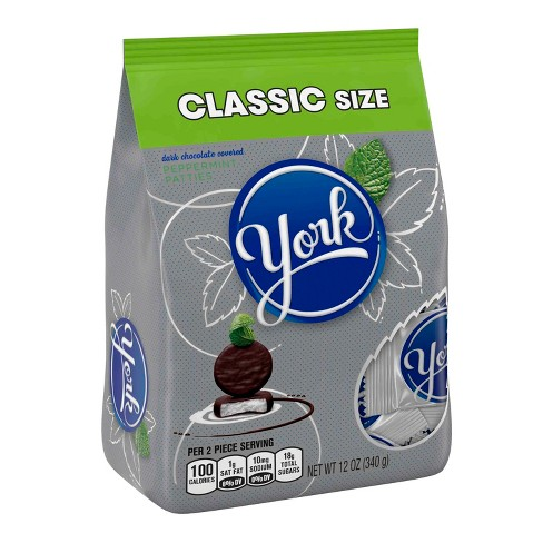York Dark Chocolate Peppermint Patties Classic Bag - 12oz - image 1 of 5