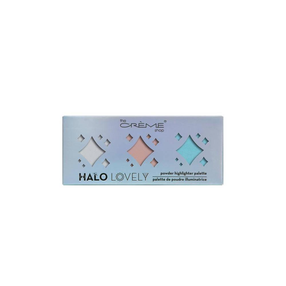 The Crème Shop Halo, Lovely Palette Powder Highlighter Palette Omega, Multi-Colored
