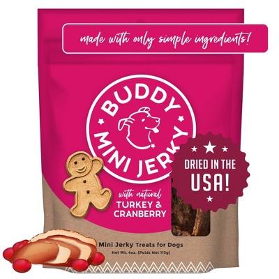 Buddy Biscuits Mini Dog Treat -Turkey & Cranberry - 4oz