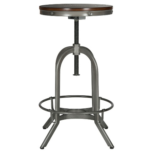 "Wildomar Adjustable 34"" Barstool - Safavieh® - image 1 of 3"