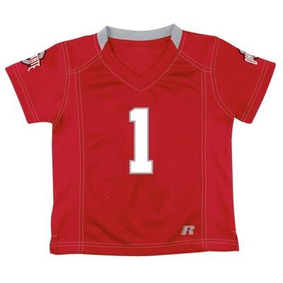 NCAA Ohio State Buckeyes Boy's Short Sleeve V-Neck Replica Jersey