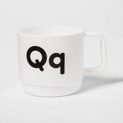 8oz Plastic Kids Monogram Mug - Pillowfort™