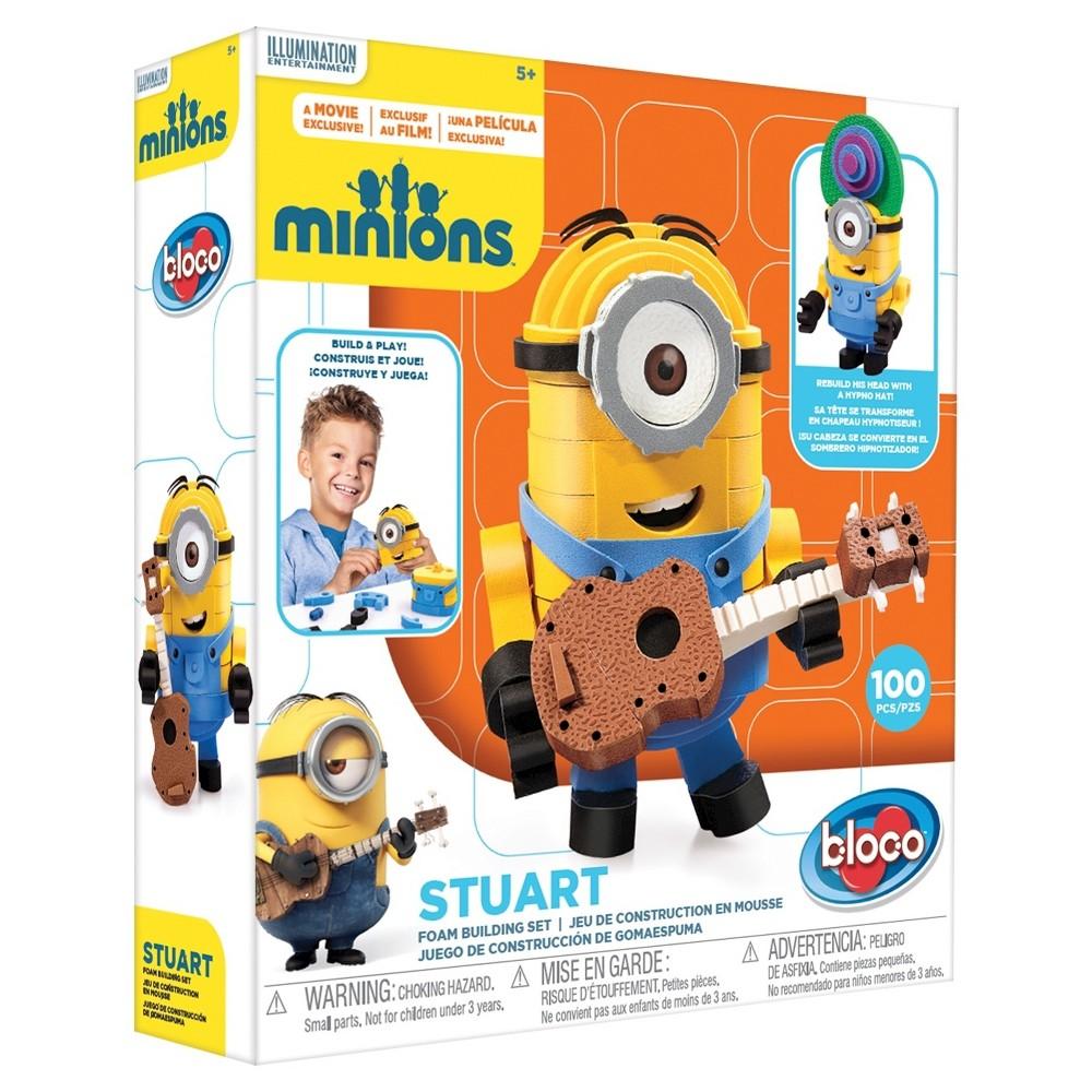 Bloco Toys Minion Stuart Foam Construction Set
