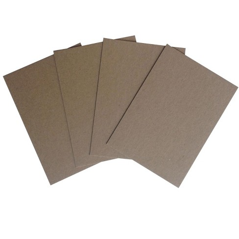 Crescent Mounting Chipboard, 5 x 7 Inches, Gray, pk of 40 - image 1 of 3