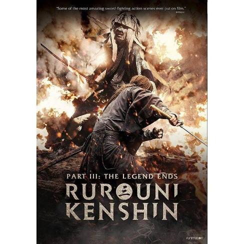 Rurouini Kenshin Part 3: The Legend Ends (DVD) - image 1 of 1