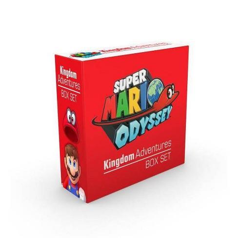Super Mario Odyssey Kingdom Adventures Box Set - (Hardcover) - image 1 of 1