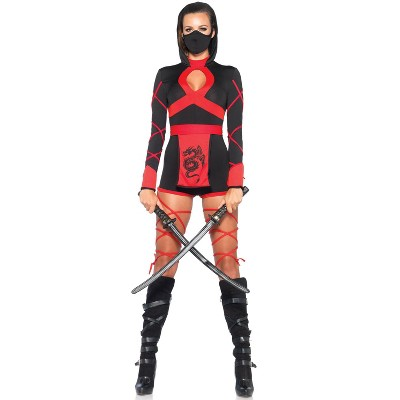 Leg Avenue Dragon Ninja Adult Costume, Small