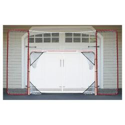 EZ Goal Hockey Backstop Rebounder with Targets