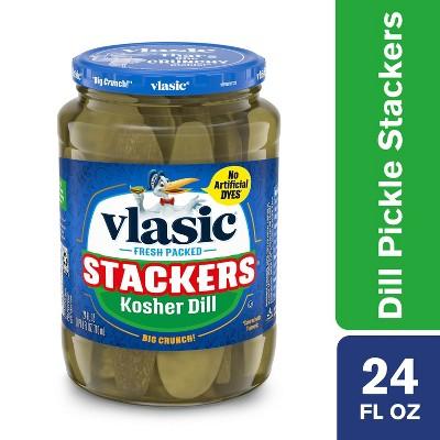 Vlasic Stackers Classic Dill - 24 fl oz