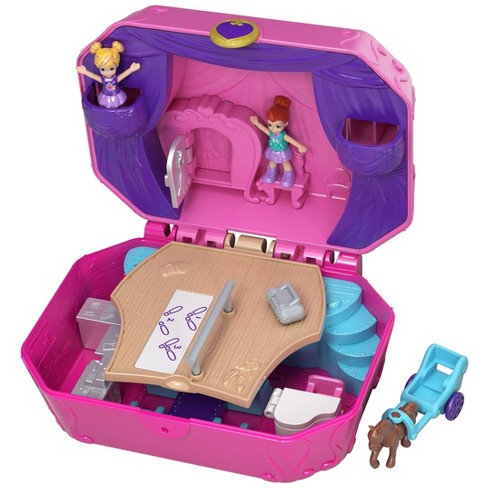 Polly Pocket Big Pocket World Tiny Twirlin' Music Box Playset - image 1 of 4
