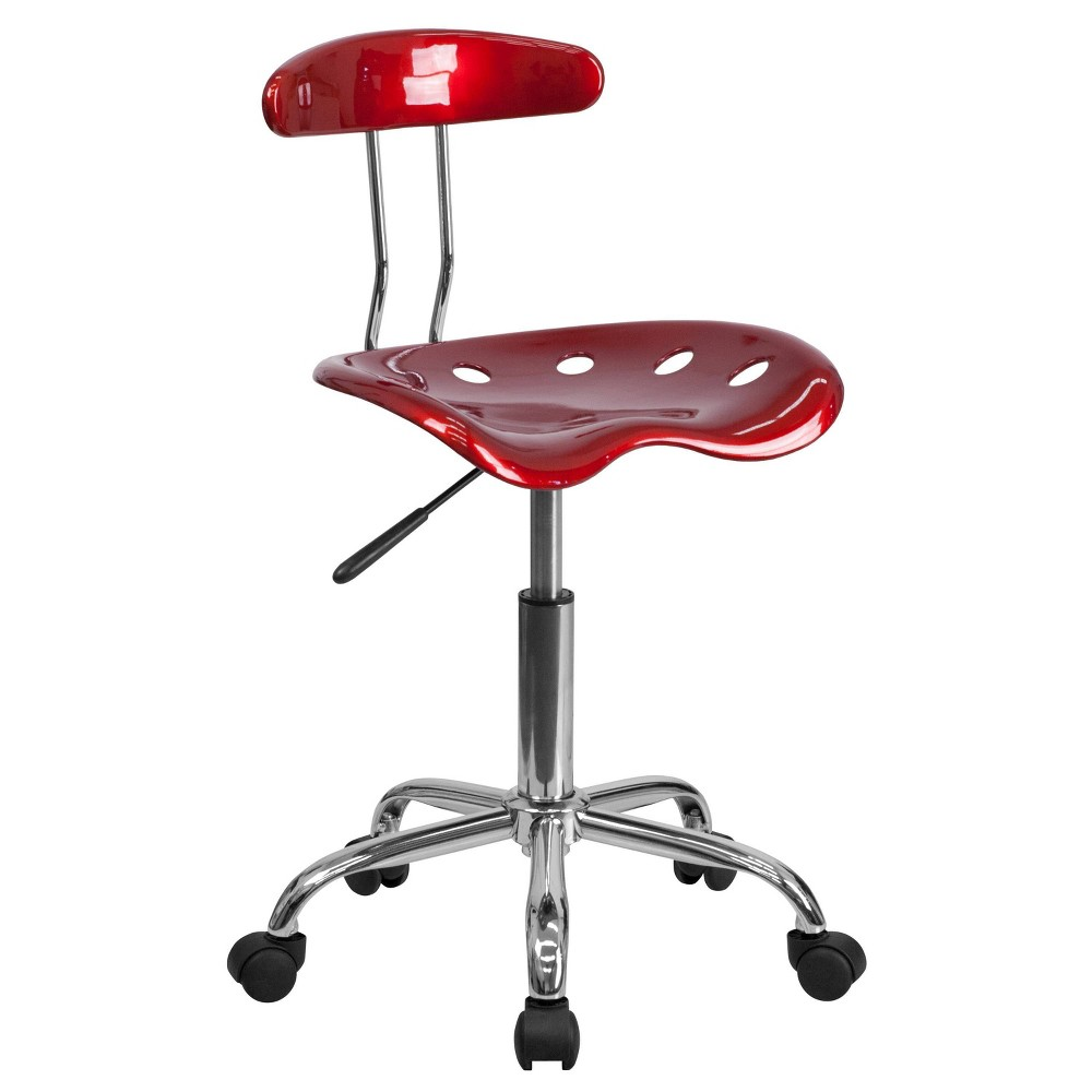 Image of Tractor Chair Red - Belnick