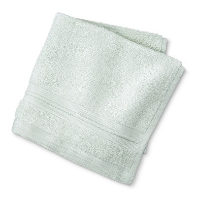 MicroCotton® Spa Solid Washcloth Mint - Fieldcrest®