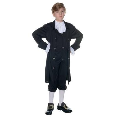 Kids' John Adams Halloween Costume (6-8)