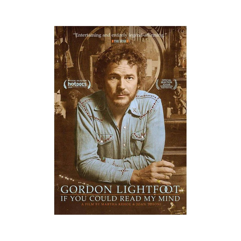 Gordon Lightfoot If You Could Read My Mind Dvd 2020
