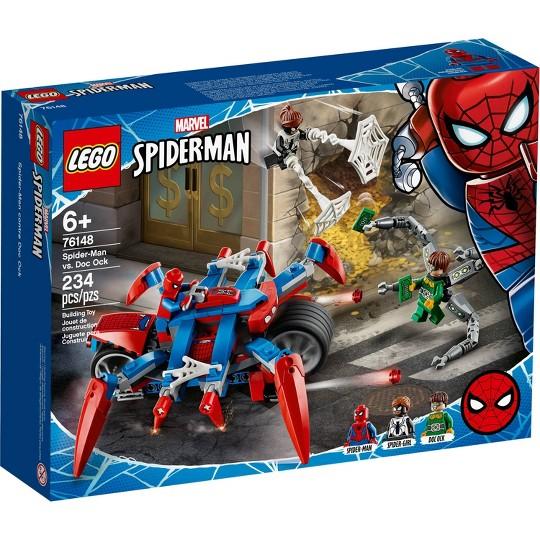 LEGO Marvel Spider-Man: Spider-Man vs. Doc Ock Superhero Playset 76148 image number null