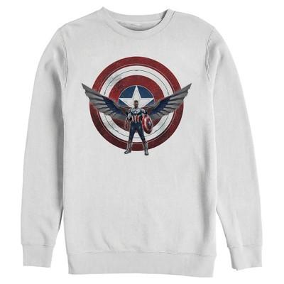 Men's Marvel The Falcon and the Winter Soldier Sam Wilson Shield Sweatshirt