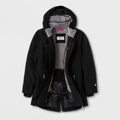 199221dab9d5 Girls  Parka Jacket - C9 Champion® Black
