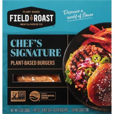 Field Roast Vegan Field Burger - 4pk/13oz