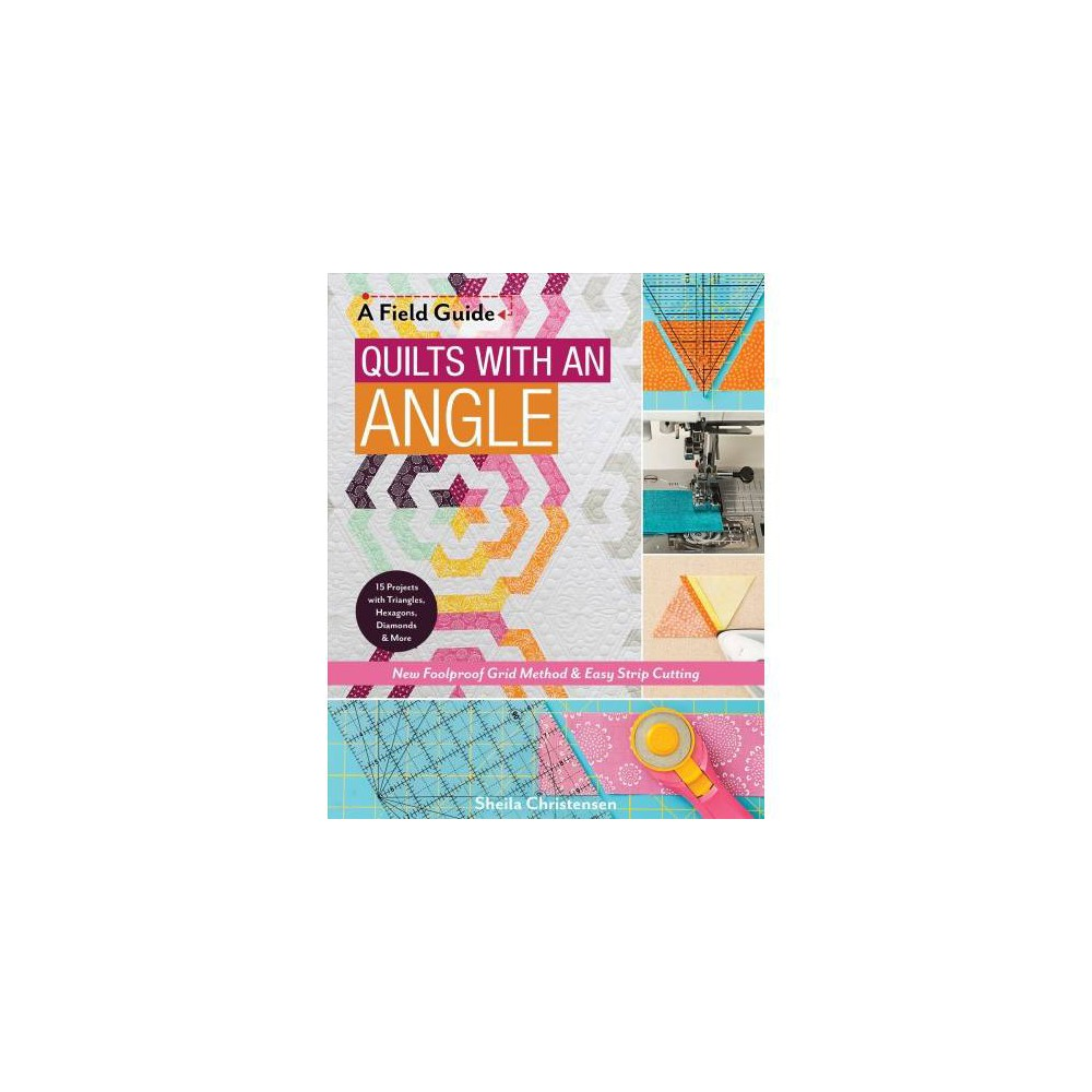 Quilts With an Angle : New Foolproof Grid Method & Easy Strip Cutting; 15 Projects With Triangles,