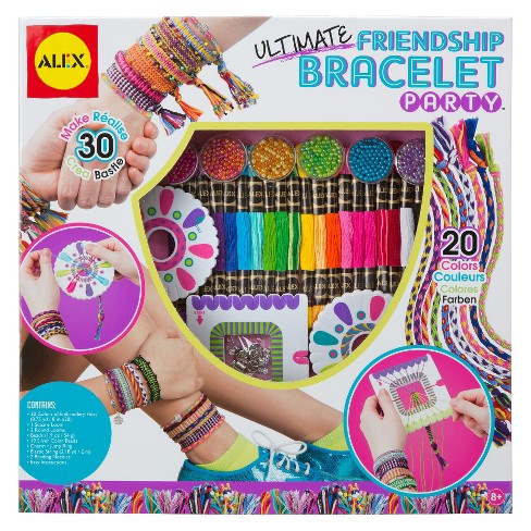 Alex Toys Diy Wear Ultimate Friendship Bracelet Party Target