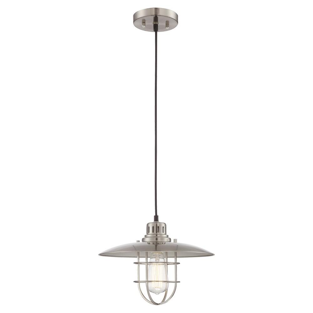 Ceiling Lights Lanterna Ii Pendant - Polished Steel - Lite Source