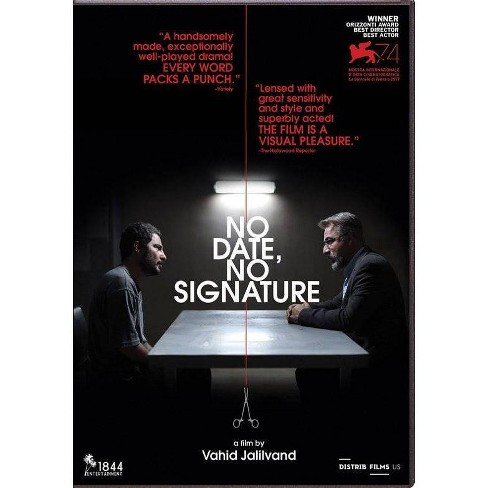 No Date No Signature (DVD) - image 1 of 1