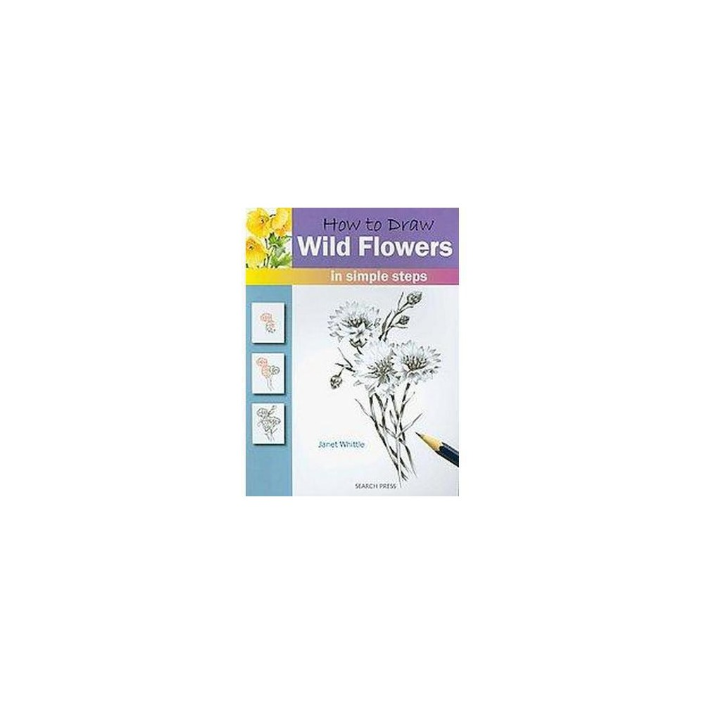 How to Draw Wild Flowers (Paperback)