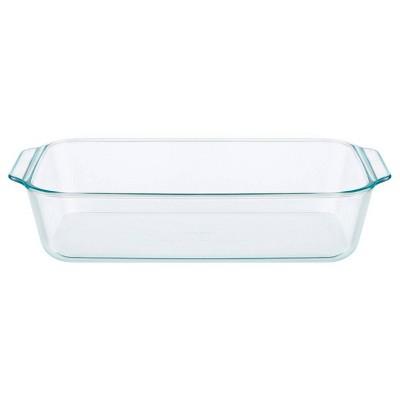 """Pyrex 9""""X13"""" Deep Glass Bakeware"""