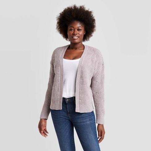 Women's Open Layering Cardigan - Universal Thread™ - image 1 of 4